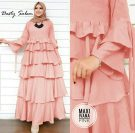 Gamis Barbie Lotus Maxi Ivana