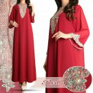 Gamis Ceruty Kaftan Payet